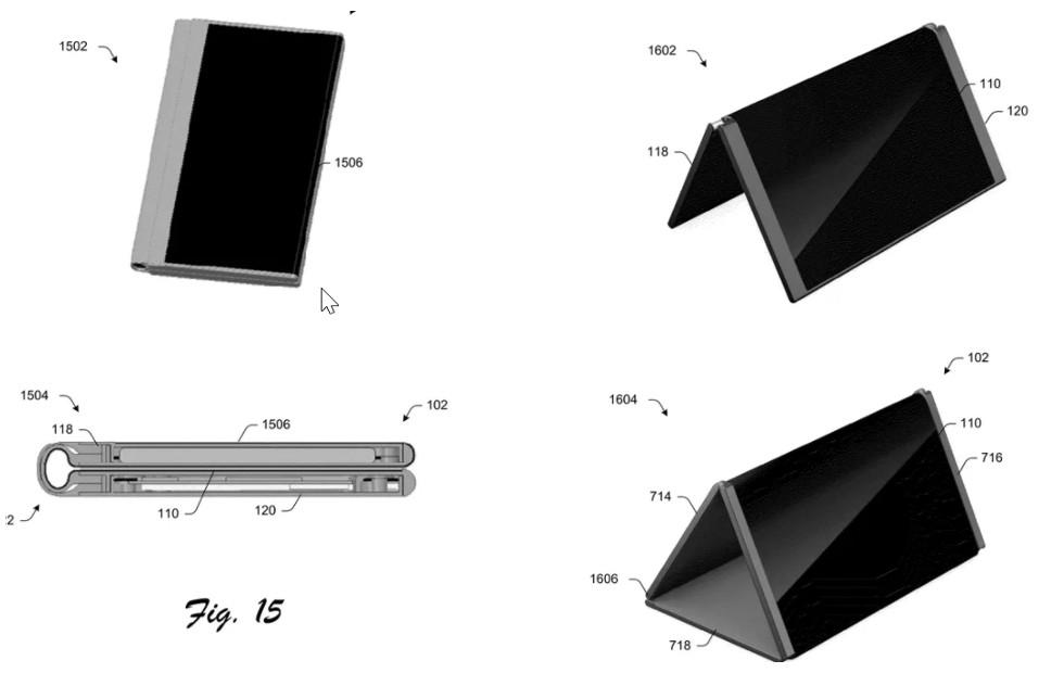 Microsoft Andromeda device might have a holographic display