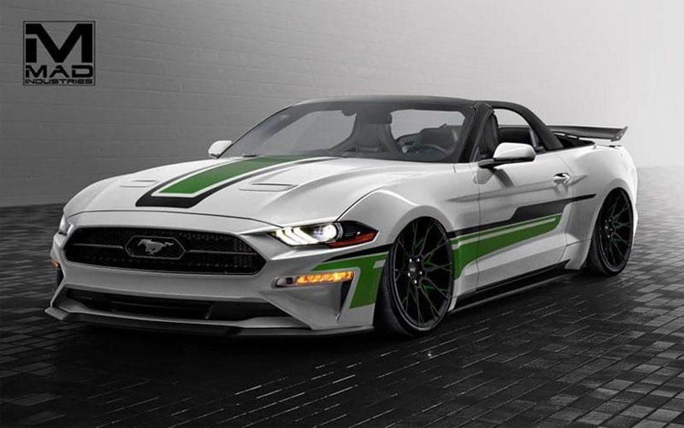 Ford shows off seven custom Mustangs headed for SEMA