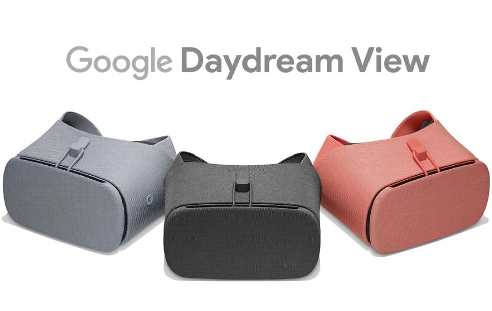 New Daydream View headsets flaunt new colors and texture