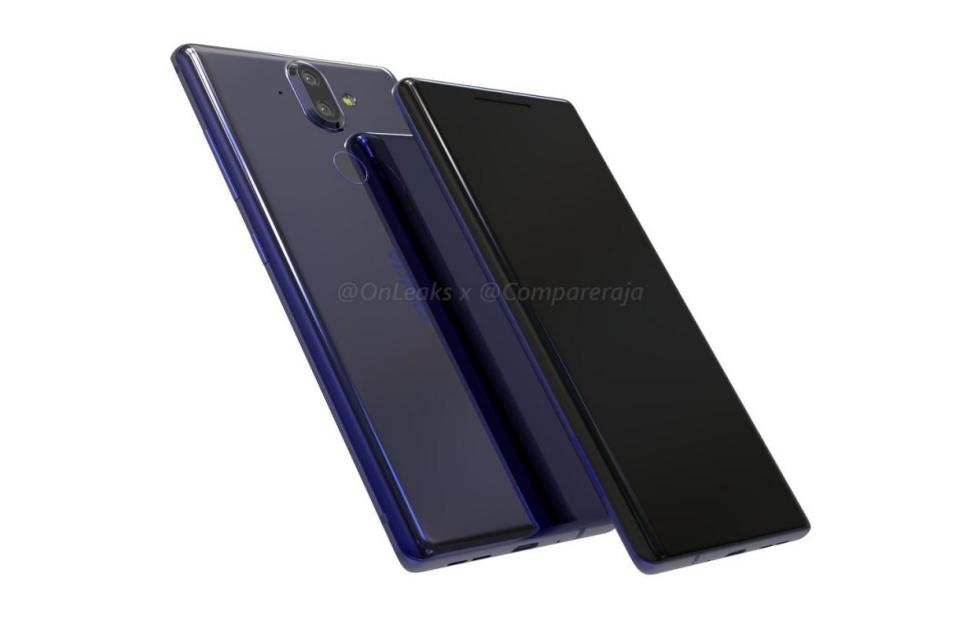 Nokia 9 renders hint at curved edge screen