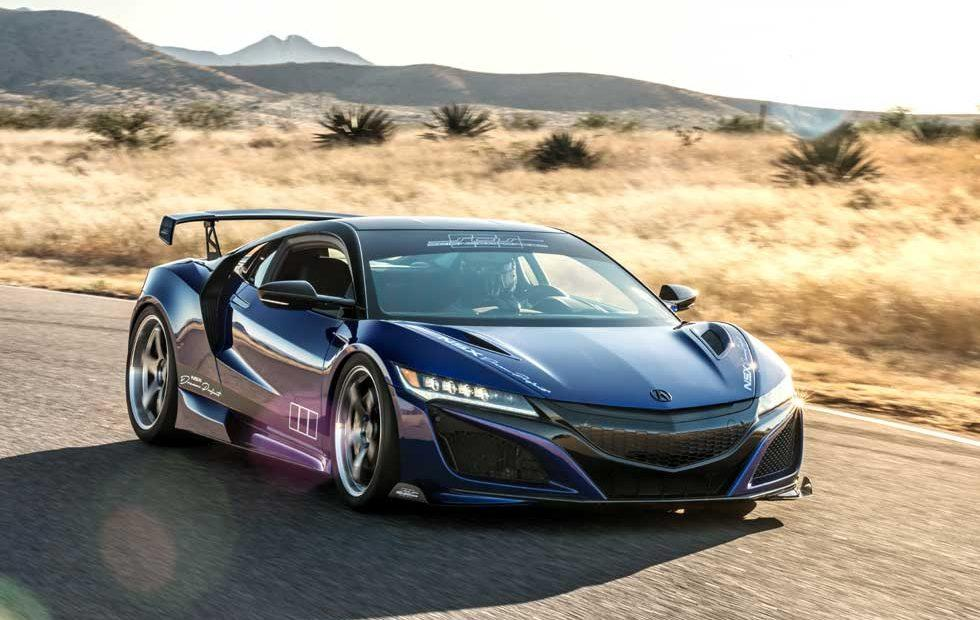 "Acura NSX ""Dream Project"" by ScienceofSpeed rolls into SEMA"