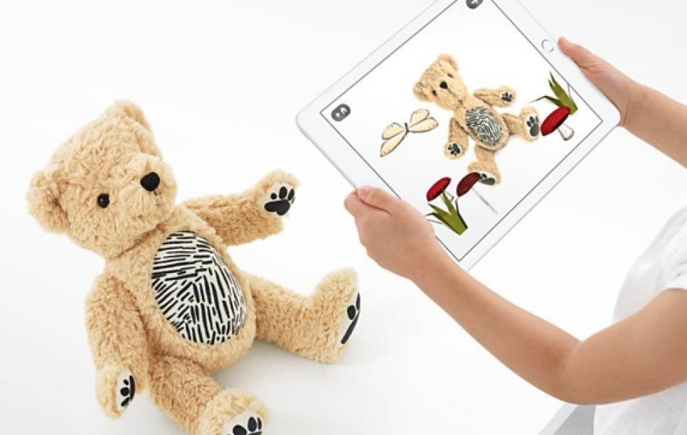 Seedling's Parker teddy bear uses AR to teach kids caregiving