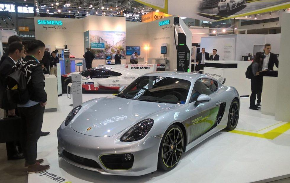 Porsche made a stunning electric Cayman, but there's a catch