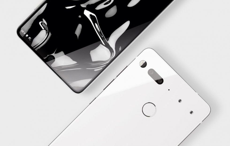 The Pure White Essential Phone is finally on sale