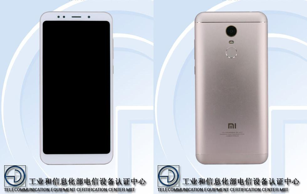 Xiaomi  Redmi Note 5 shows up at TENAA with 18:9 screen