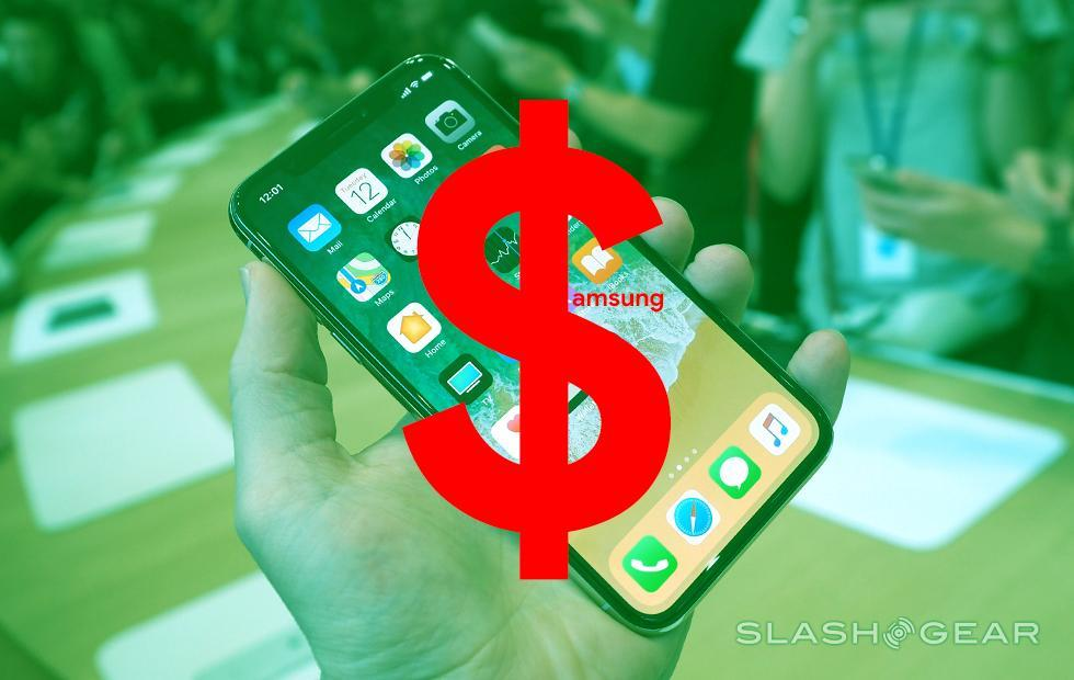 Samsung making more from iPhone X than their own Galaxy