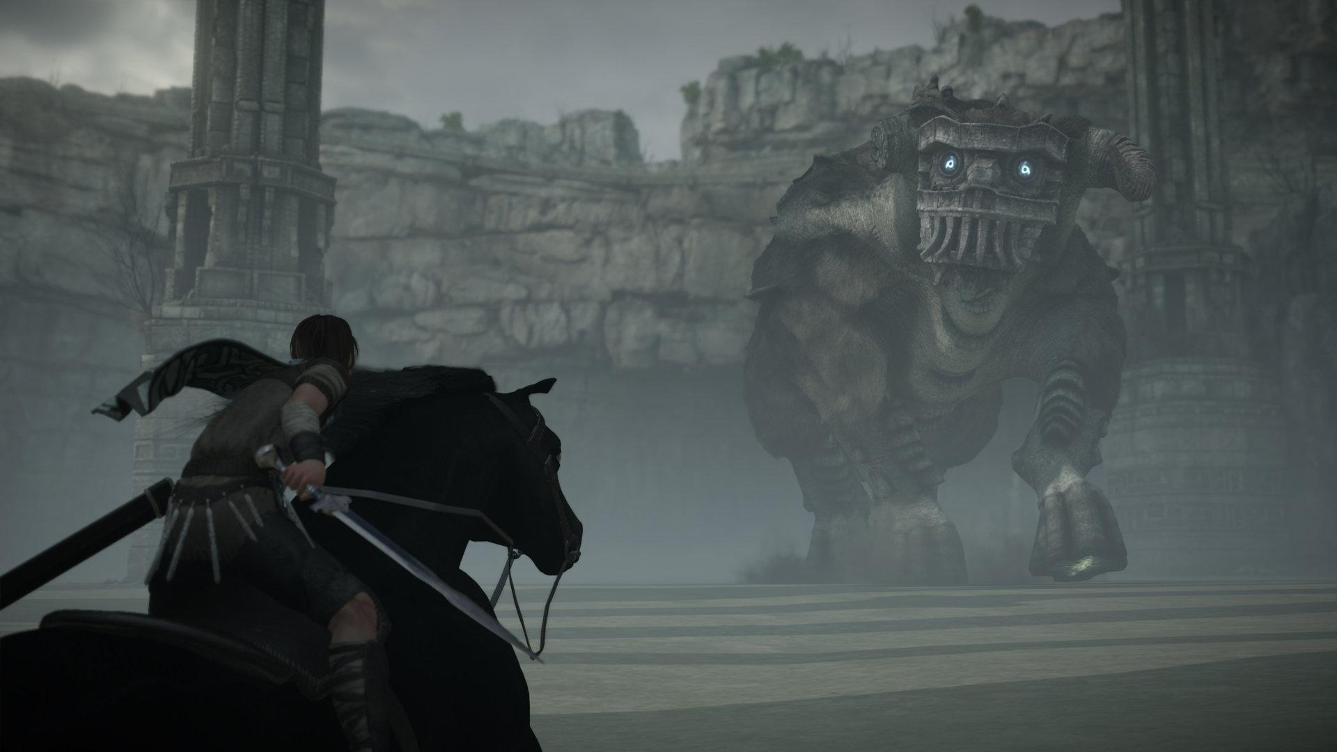 Shadow Of The Colossus Ps4 Remake Gets A New 4k Trailer Slashgear