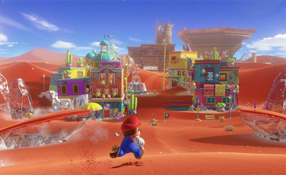 Super Mario Odyssey players are already speedrunning the in-store demo