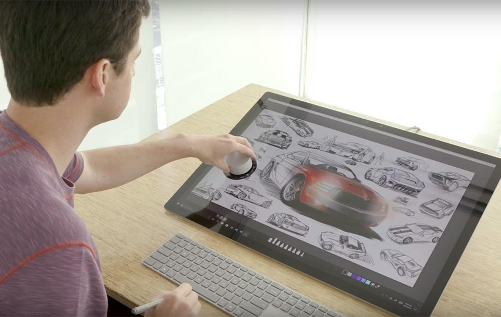 Photoshop finally gets support for Microsoft's Surface Dial