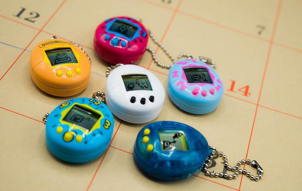 Tamagotchi will return next month with six miniature designs