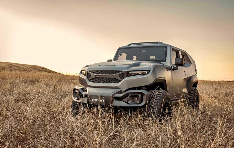 Rezvani Tank debuts with 500 hp 6.4L Hemi V8 and available armor protection