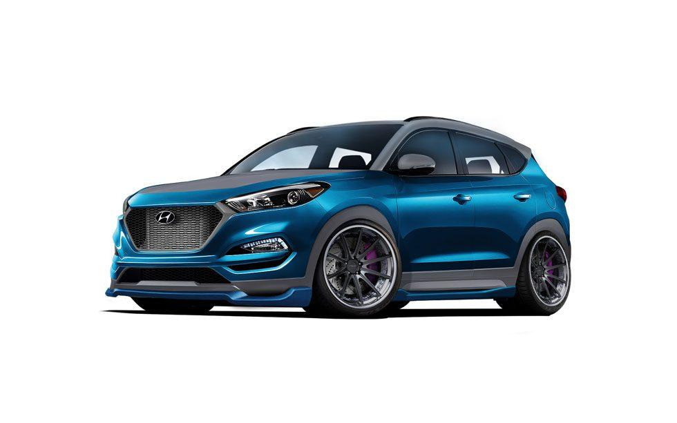 Hyundai shows off Vaccar Tucson Sport Concept bound for SEMA