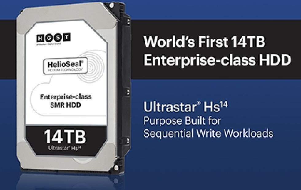Western Digital now has a 14 TB hard drive