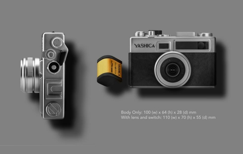 Yashica Y35 digital camera is a toy that tries hard to be retro