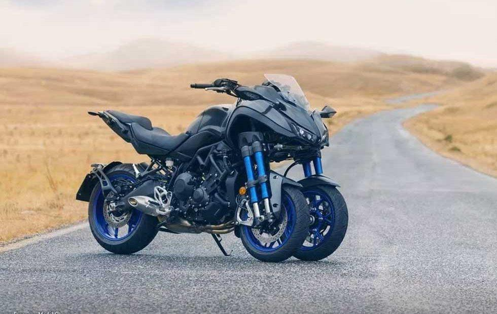 2018 Yamaha Niken is a leaning trike