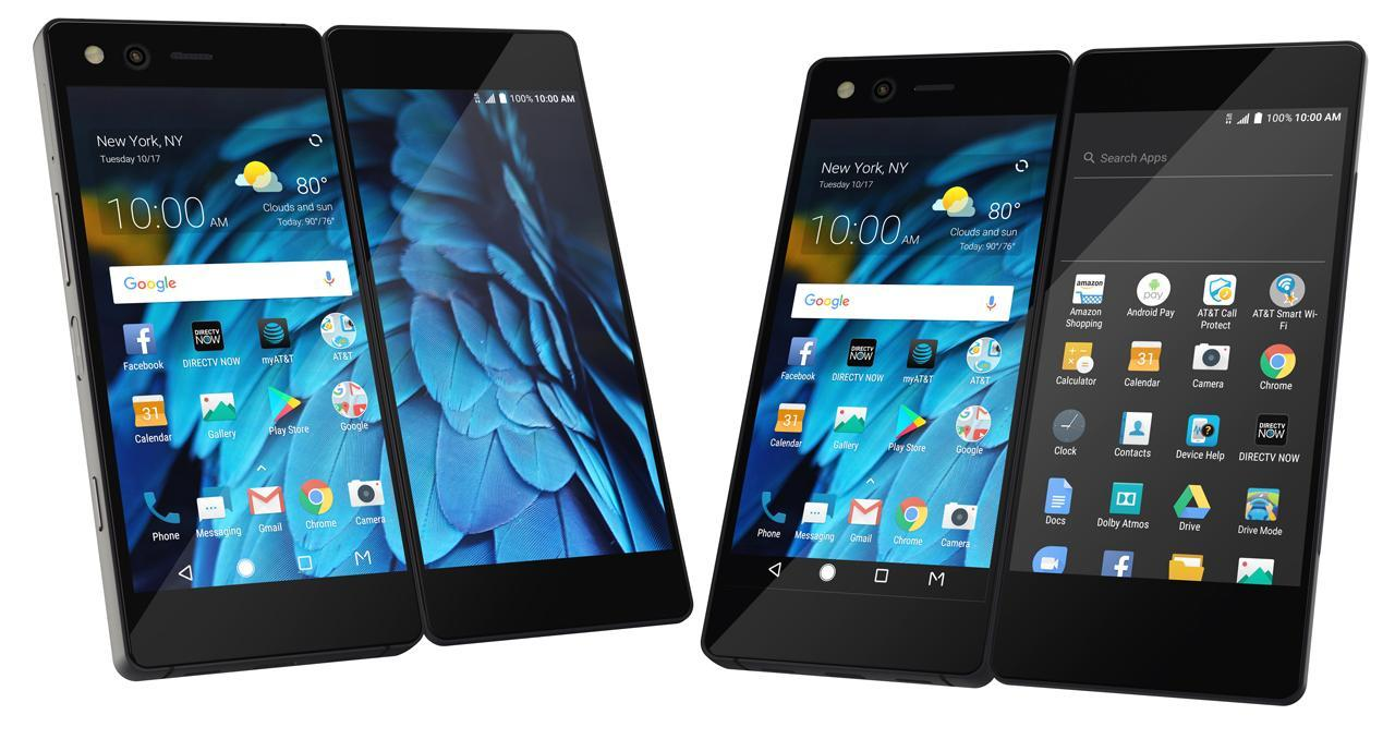 The ZTE Axon M has twin displays and we've a lot of
