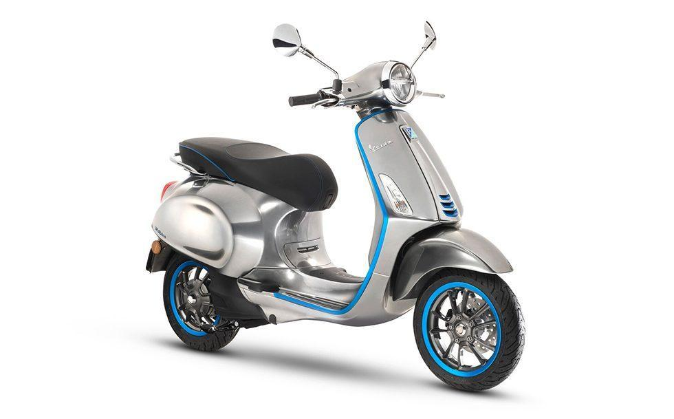 Vespa Elettrica electric scooter offers retro looks and 62 mile range