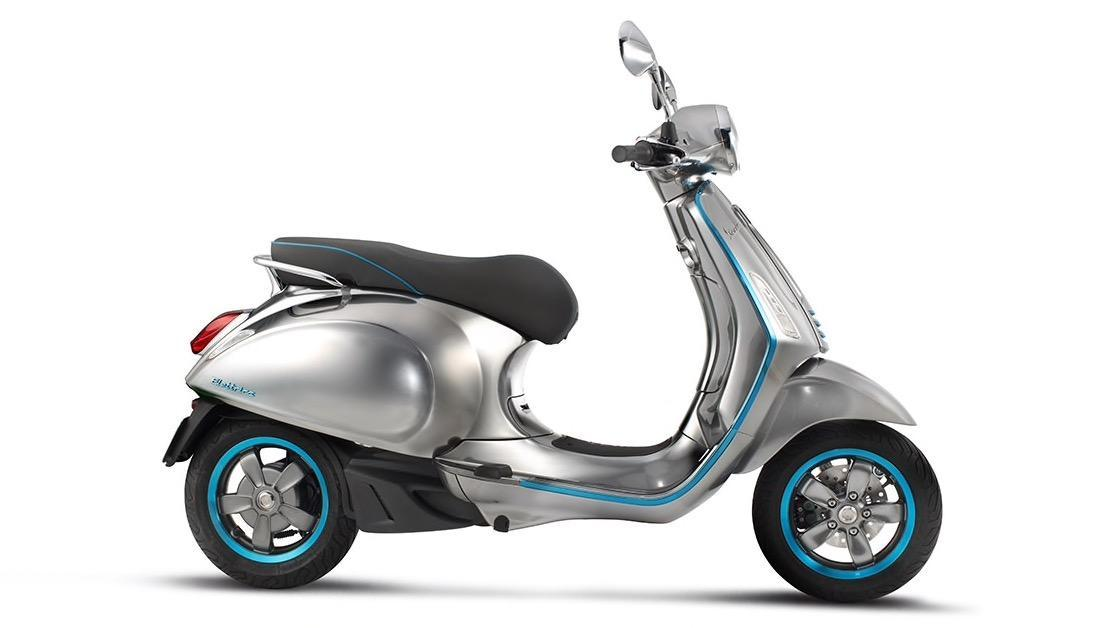 Vespa Elettrica electric scooter offers retro looks and 62 mile