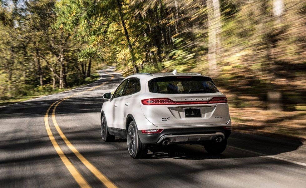 2019 Lincoln MKC is a small and luxurious SUV