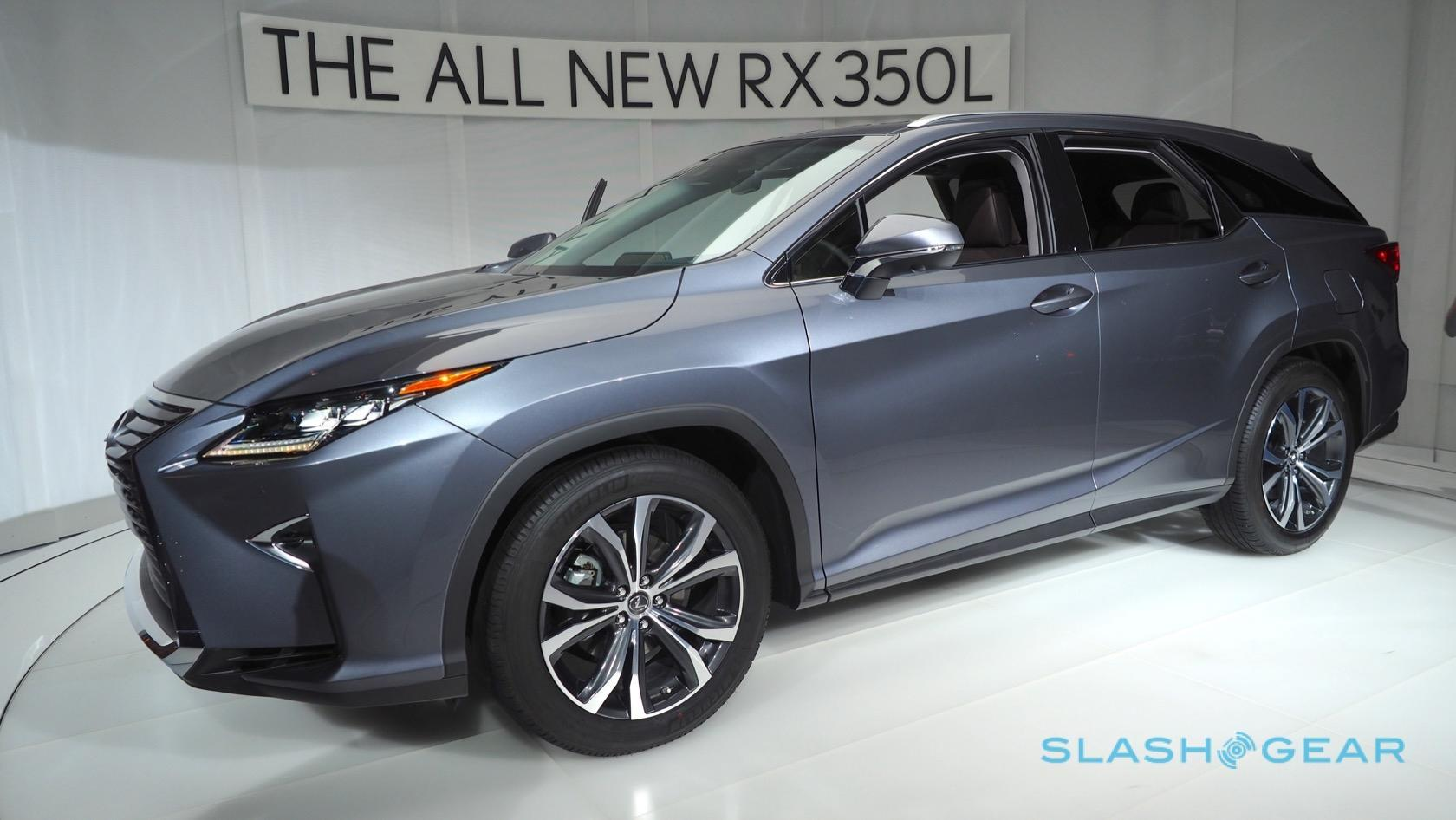 Lexus 3 Row Suv >> 2018 Lexus Rx 450hl 3 Row Hybrid Suv Priced Up Slashgear