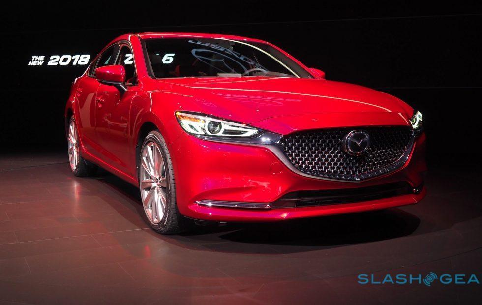 2018 Mazda6 makes LA debut with torquey turbo engine