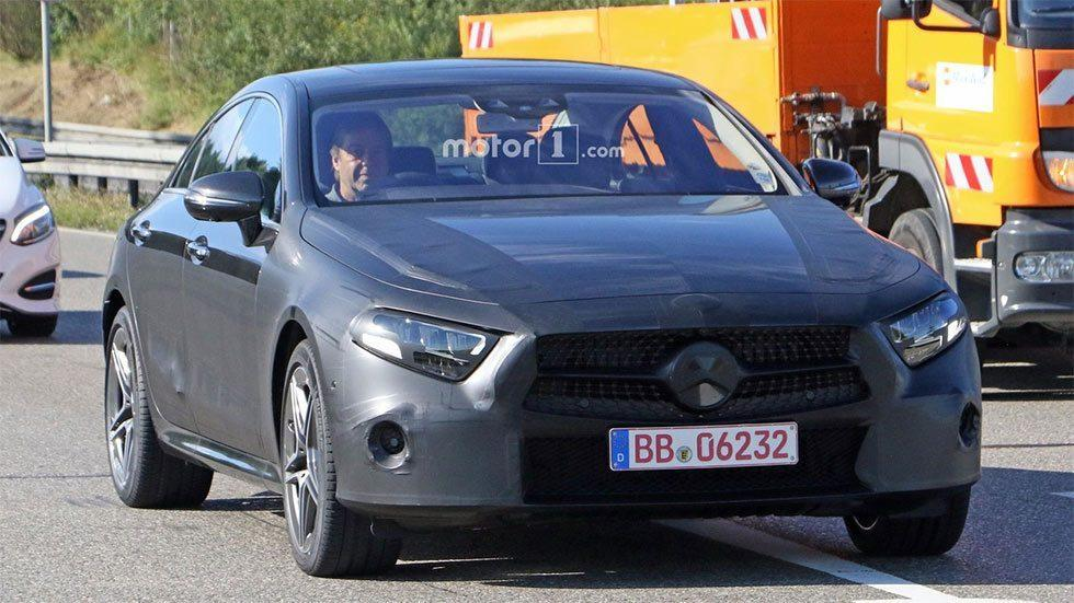2019 Mercedes CLS Caught on Video