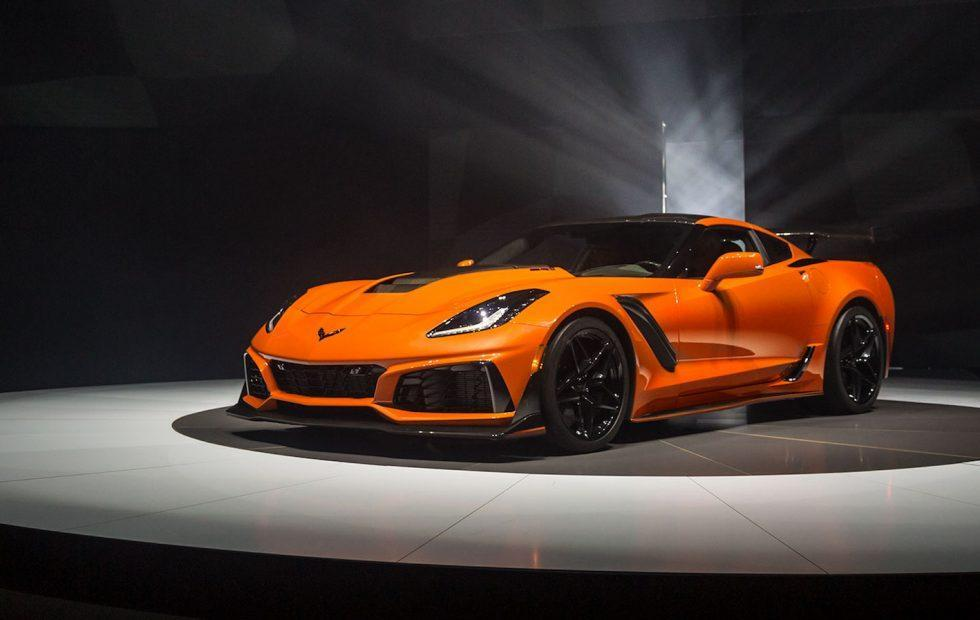 The 2019 Corvette ZR1 is a 755 HP all-American supercar