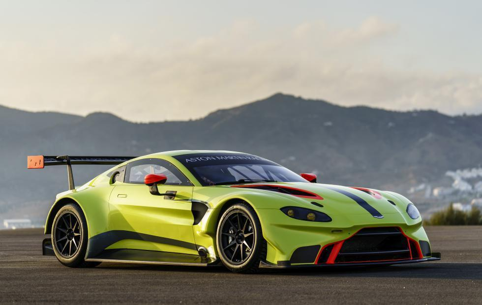 2018 Aston Martin Vantage GTE: from road car to race car