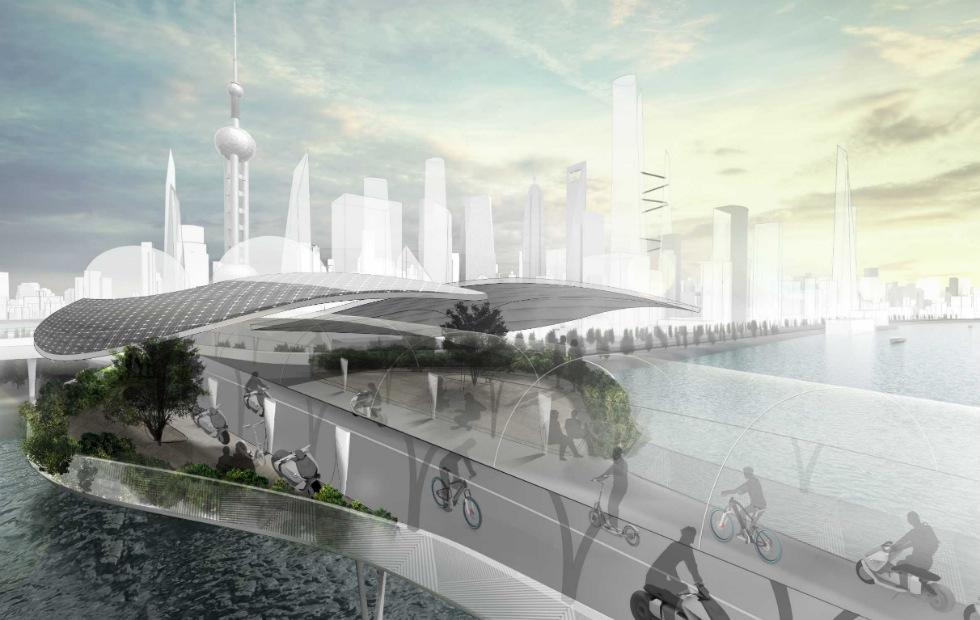 BMW Vision E3 Way concept imagines emissions-free roads for e-bikes