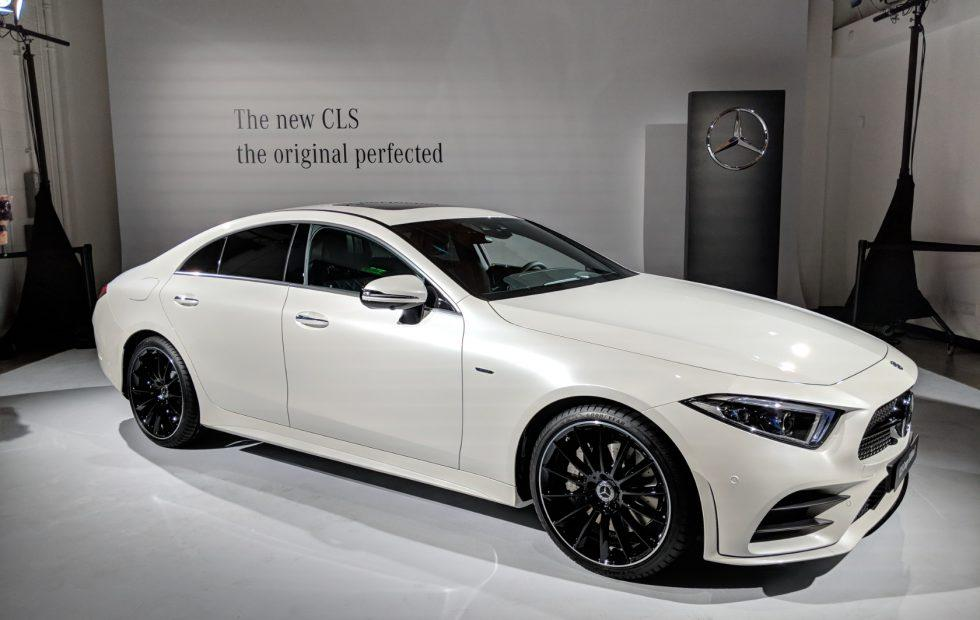2019 Mercedes-Benz CLS is a 48V hybrid luxury four-door coupe