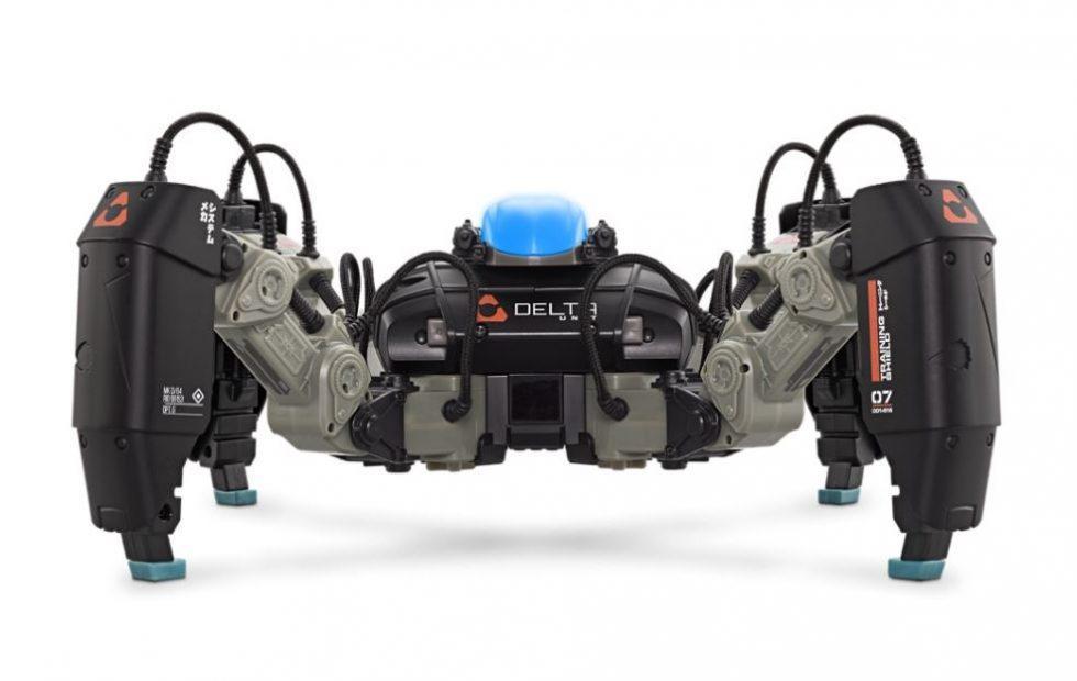 MekaMon AR battle bot arrives at Apple Store
