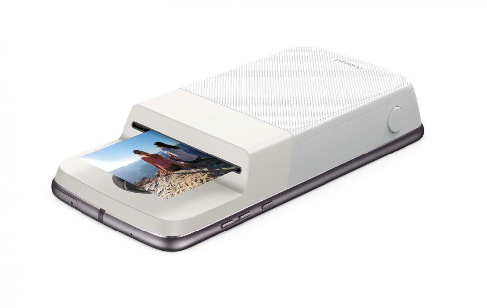 Moto Mod Polaroid Insta-Share turns your phone into a printer