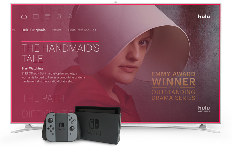 Nintendo Switch Hulu release is today