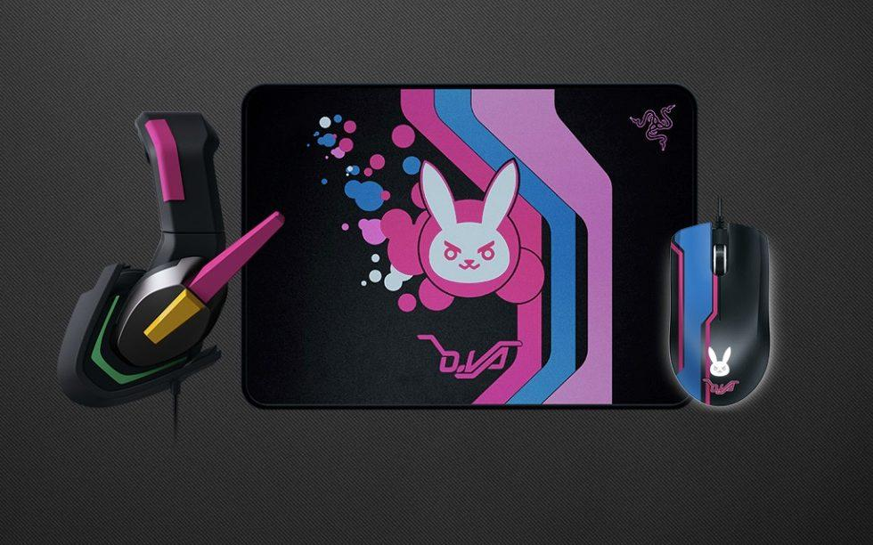 Razer debuts new Overwatch accessories inspired by D.Va