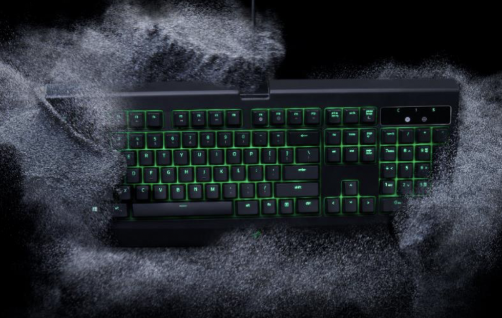 Razer's next trick: dust and water-resistant gaming keyboards
