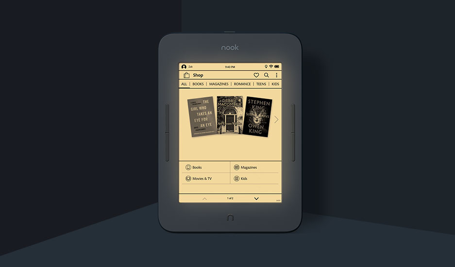 B&N NOOK GlowLight 3 takes on Kindle with new Night Mode