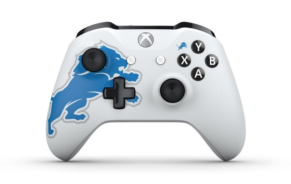 NFL-themed Xbox One controllers have arrived