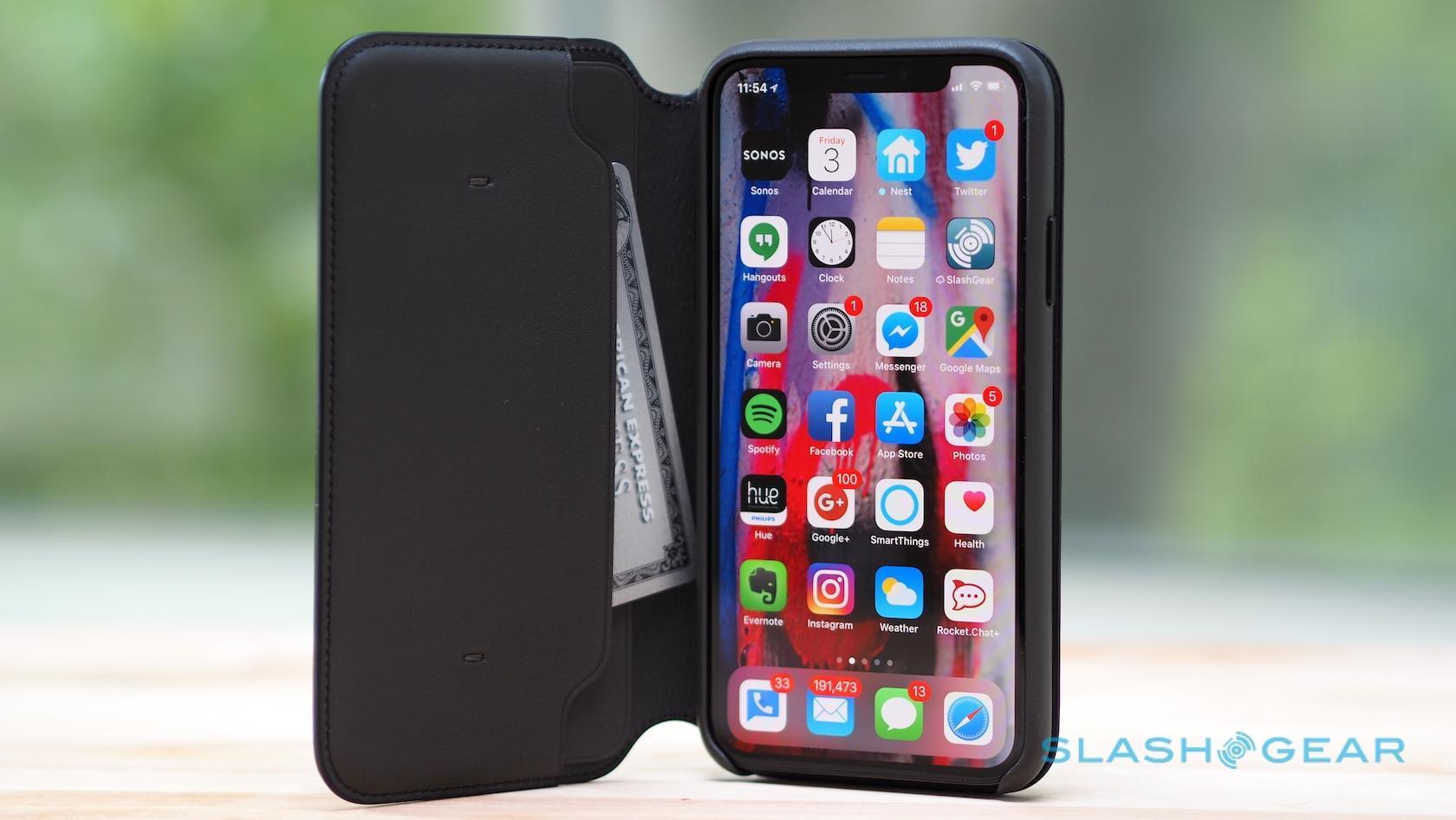 custodia iphone x folio