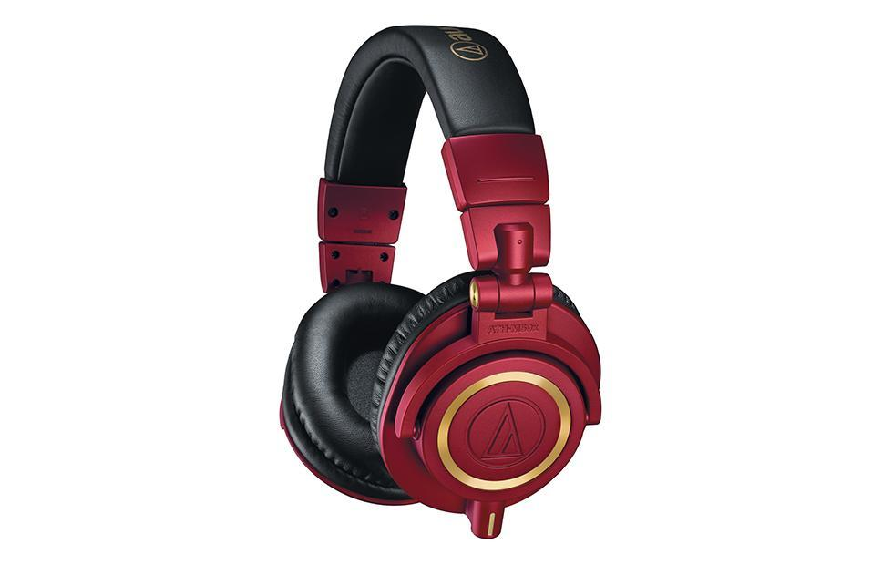 Audio-Technica ATH-M50xRD limited red and gold edition now available
