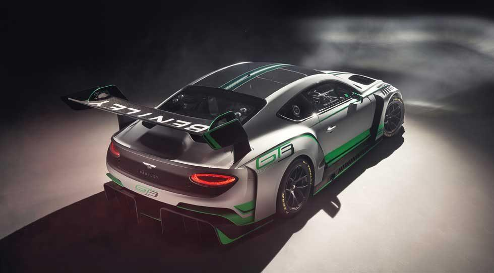 Bentley Continental GT3 Racer is ready for the 2018 racing season