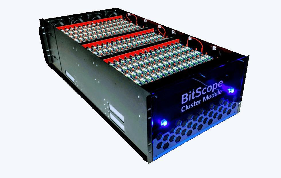 BitScope supercomputer cluster uses 750 Raspberry Pis