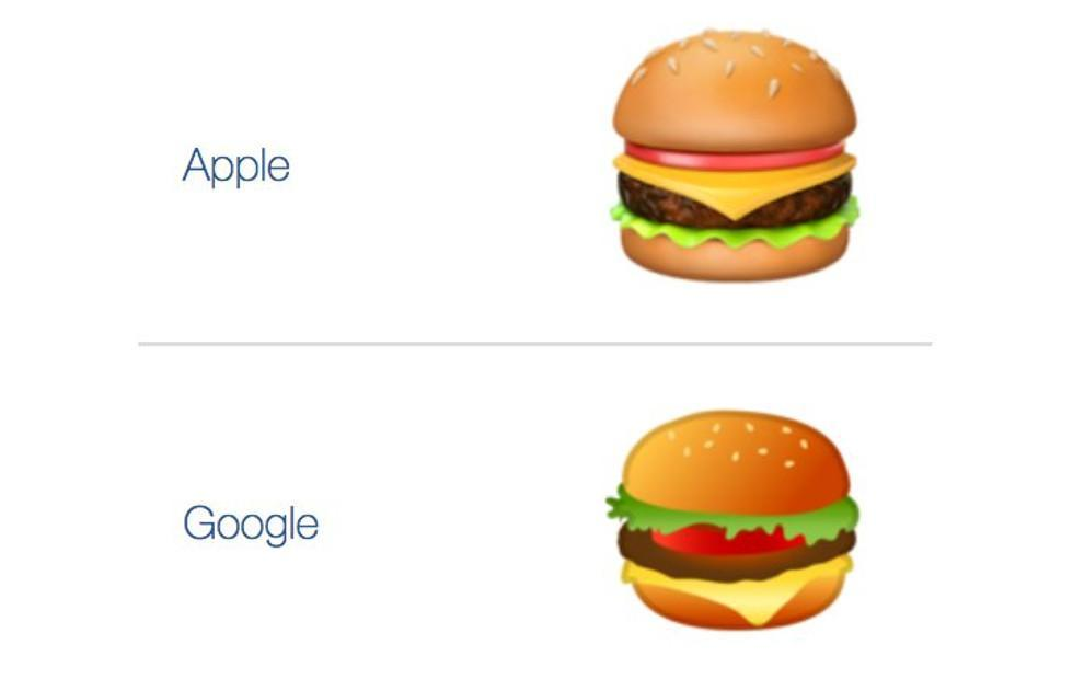 Google Android Burger lunch gave employees an emoji-inspired meal