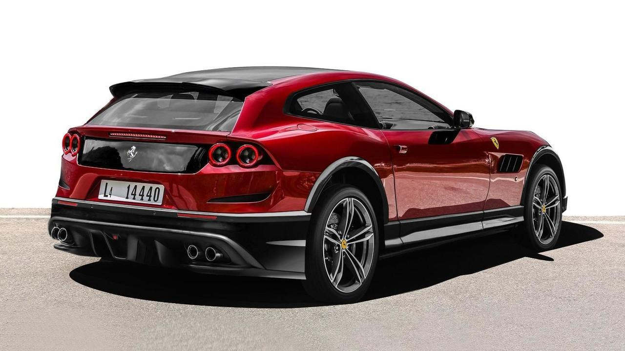 Ferrari Suv Unofficial Renderings Show What Could Be Slashgear
