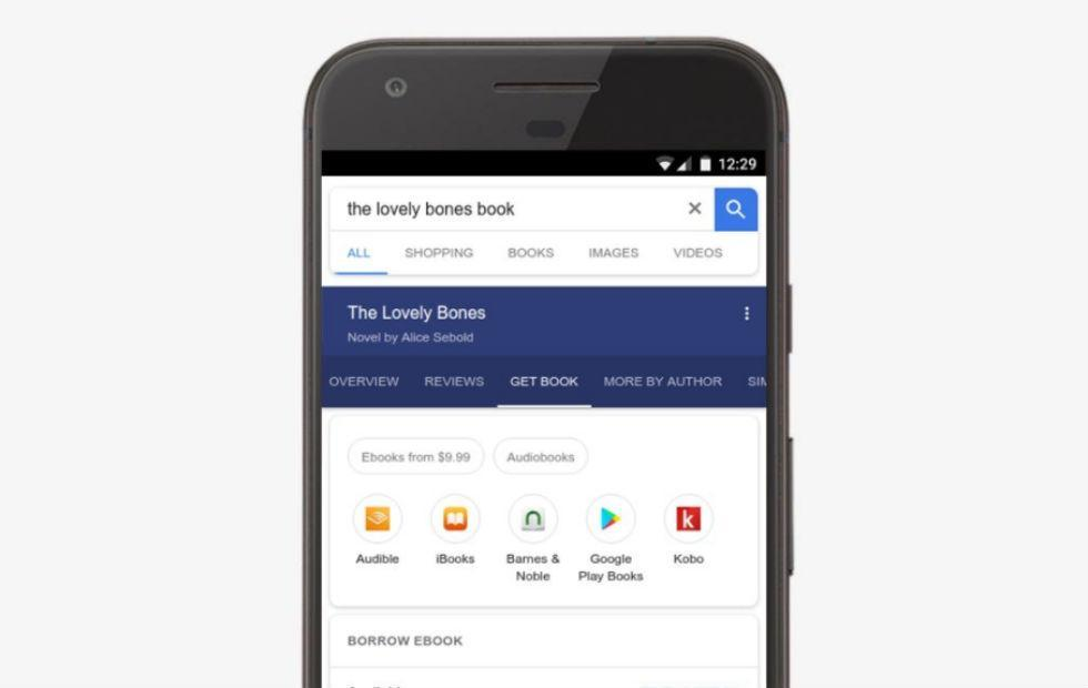Google Search adds audiobook results with public library links