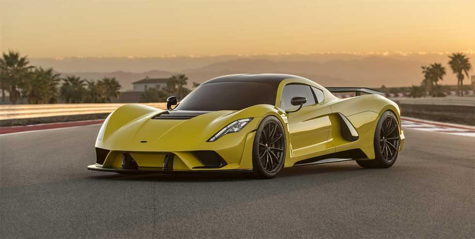 Hennessey Venom F5 is a 300mph American hypercar