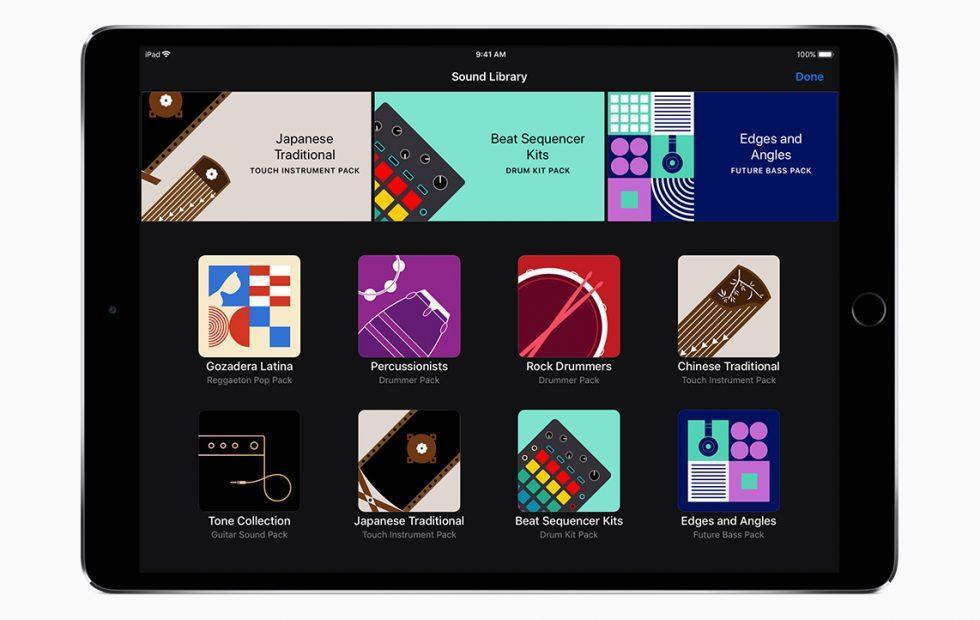 GarageBand for iOS update adds an instrument store