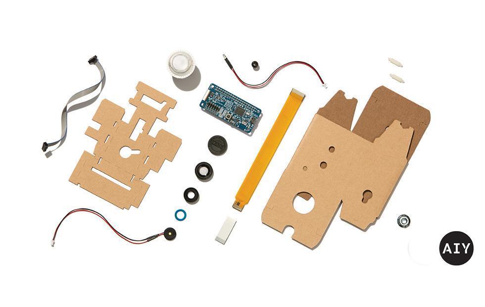 Google AIY Vision Kit brings computer vision in a cardboard box