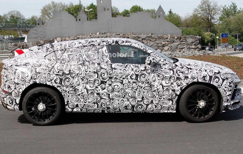 Lamborghini Urus spied hustling around the Nürburgring