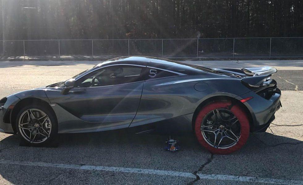 Stock McLaren 720S puts down 9.7-second quarter mile run