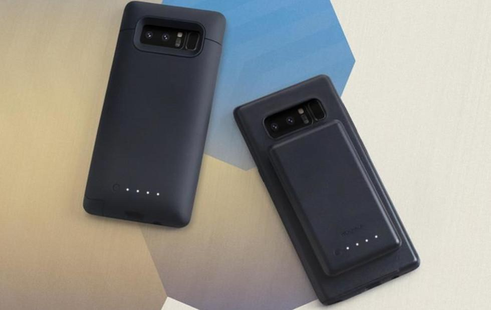 mophie charge force fixes Galaxy Note 8's biggest flaw